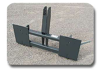 3-pt. Hitch to Skid Steer Adapter