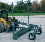Optional laser pole kit for grade blade skid steer attachments - sold in pairs.