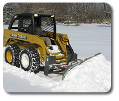 Skid Steer Snow Blades