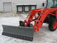 Front Loader Snow Blade Attachments.