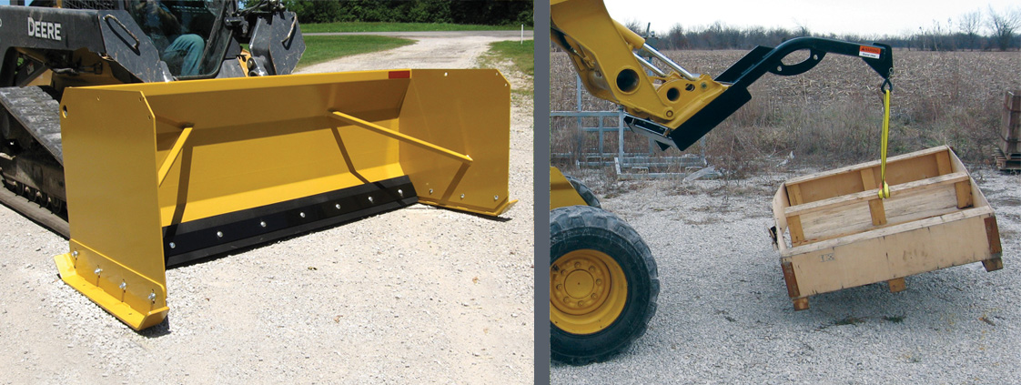 36-Series Snow Pushers and Crane Boom from SitePro