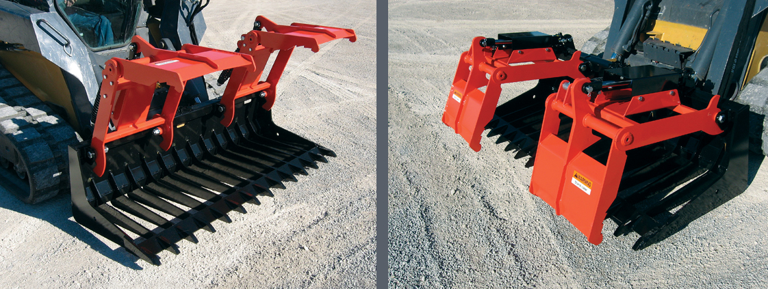 Sweep Action Tine Grapple from SitePro