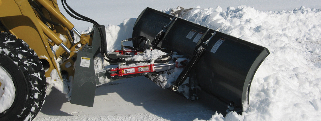 Snow Blades for Front Loaders and Skid Steers from SitePro